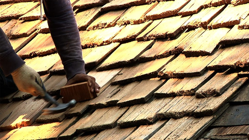 Cedar Shake Roof Restoration Exterior Wood Restoration